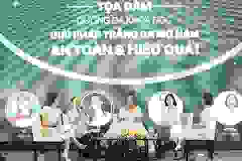 Hội thảo trắng da, mờ thâm nám - giải pháp làm đẹp cho phụ nữ Việt