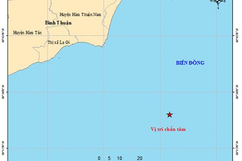 Động đất ở vùng biển ngoài khơi Bình Thuận có gây sóng thần?