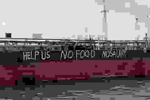 12 thủy thủ Việt Nam mắc kẹt 4 tháng trên biển Malaysia