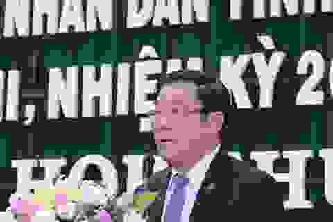 HĐND tỉnh Bình Định lần đầu tiên không chất vấn trực tiếp