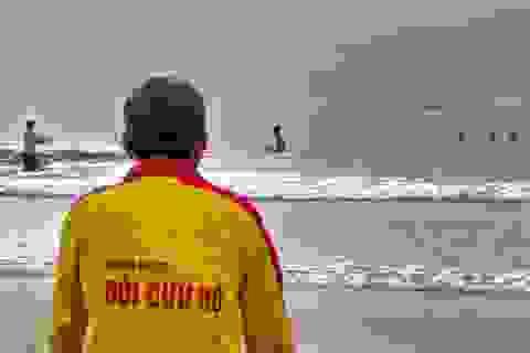 Những người làm nghề cứu hộ bãi biển ở Đà Nẵng