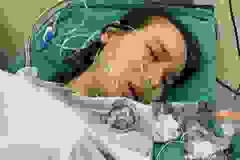 Thai phụ nguy kịch buộc phải mổ bắt con cầu cứu các nhà hảo tâm giúp đỡ