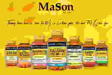 Mason Natural - Thương hiệu hơn 50 năm tại Mỹ chính thức có mặt tại Việt Nam
