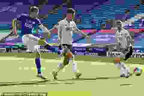 "Leicester City 2-0 Sheffield United: ""Bầy cáo"" vẫn giữ vững vị trí top 4"