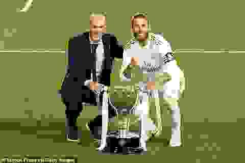 """HLV Zidane: """"Vô địch La Liga khiến tôi hạnh phúc hơn là Champions League"""""""