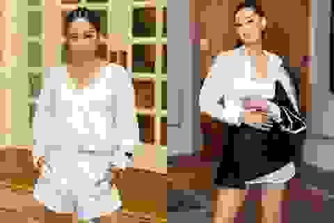 Hoa hậu Khánh Vân, Á hậu Mâu Thủy khoe dáng chuẩn