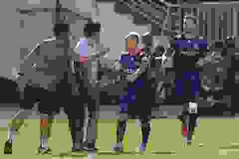 Thắng đậm Nam Định, Sài Gòn FC vững ngôi đầu V-League