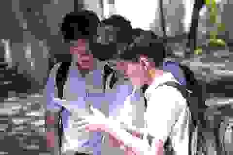 Đà Nẵng: Đề Toán dài, thí sinh lo điểm phải thật cao mới đậu trường top