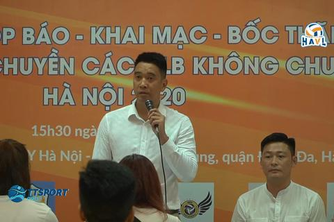 Cựu tuyển thủ tổ chức giải bóng chuyền không chuyên Hà Nội