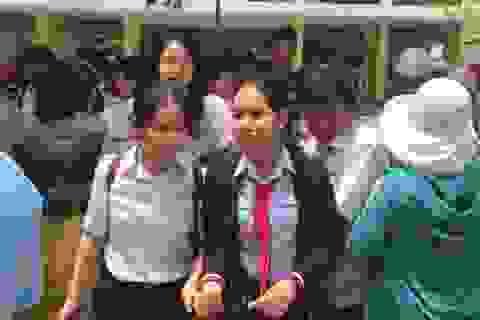 Đà Nẵng: Đề thi khó, nhiều thí sinh thi vào THPT chuyên Lê Quý Đôn lo trượt
