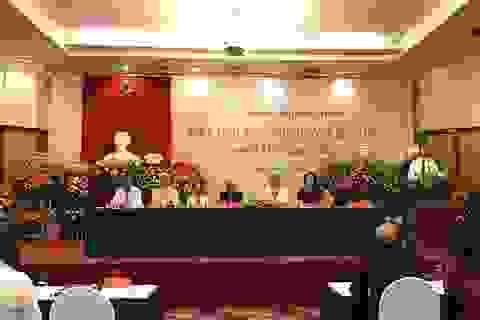 GS.TS Lê Hồng Lý được bầu làm Chủ tịch Hội Văn nghệ dân gian Việt Nam