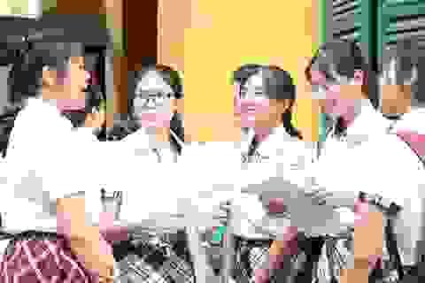 TPHCM: Công bố đáp án chính thức 3 môn thi vào lớp 10