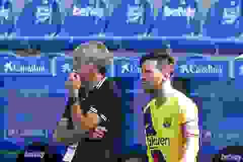 Vì mục tiêu lớn, HLV Barcelona và Messi dẹp bỏ hiềm khích