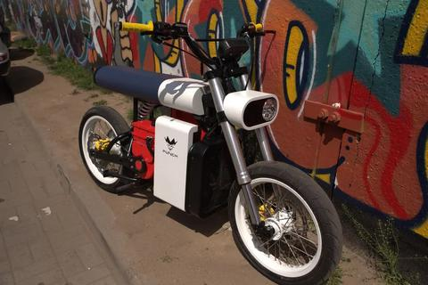 Xe máy điện Punch Moto - Đơn giản và khác lạ