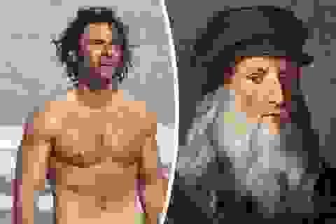 Người đàn ông quyến rũ nhất thế giới nhập vai danh họa Leonardo da Vinci