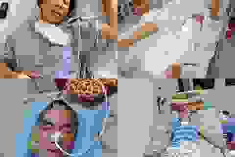 Cha nằm liệt, mẹ nằm viện, thương 3 con nhỏ về tá túc ông nội nghèo khó