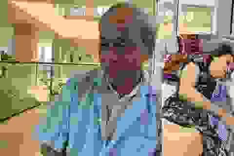 Xót thương người bố nghèo đi xin cơm chăm con gái tật nguyền