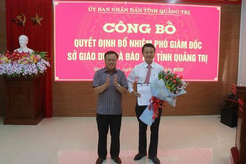Quảng Trị bổ nhiệm thêm Phó Giám đốc Sở Giáo dục và Đào tạo