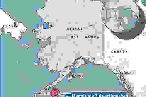 Động đất 7,8 độ Richter ở Alaska, Mỹ cảnh báo sóng thần