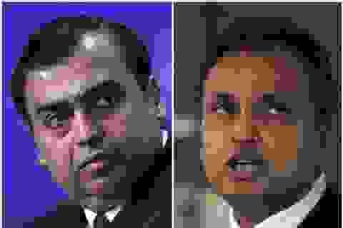 Anh em tỷ phú Ấn Độ - người giàu nhất châu Á, kẻ phá sản suýt đi tù