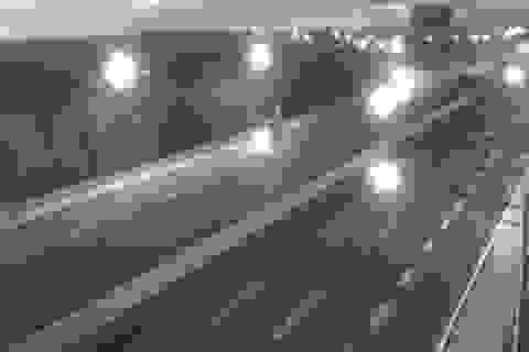 Xử phạt tài xế lùi xe, chạy ngược chiều trên cao tốc Hà Nội - Hải Phòng