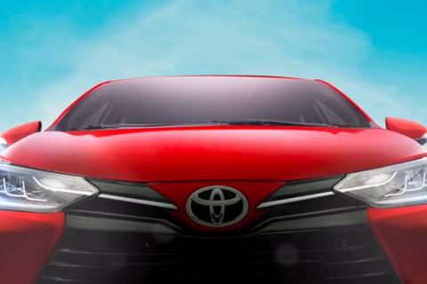Toyota Vios phiên bản nâng cấp 2021 lộ diện trước giờ G
