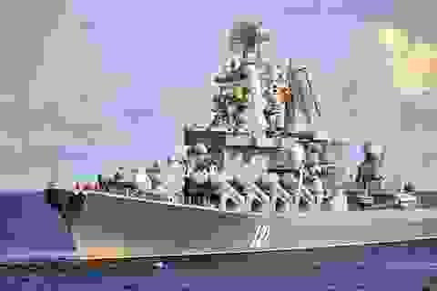 Video hạm đội Nga tập trận rầm rộ ở Crimea
