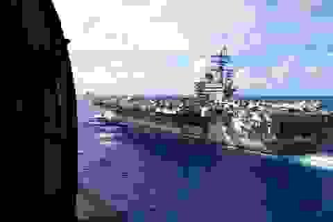 Tàu chiến Australia chạm trán Hải quân Trung Quốc ở Biển Đông