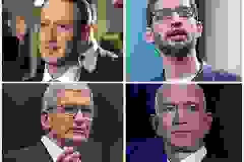 """Phiên điều trần của bốn """"đại gia công nghệ"""" trước Quốc hội Mỹ bị hoãn"""