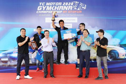 Giải ô tô thể thao Gymkhana Ninh Bình 2020 đã tìm được nhà vô địch