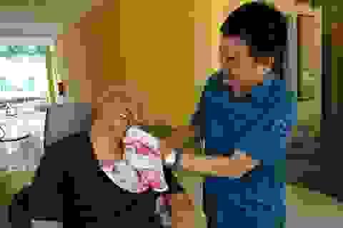 Chăm sóc thương bệnh binh bằng cả tấm lòng biết ơn