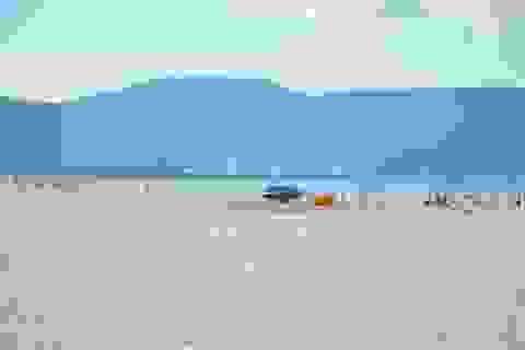 Bãi biển Mỹ Khê Đà Nẵng trong ngày đầu áp dụng giãn cách xã hội