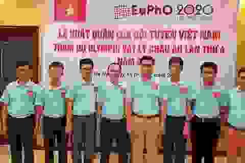 Việt Nam đoạt huy chương vàng Olympic Vật lý châu Âu 2020