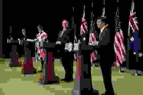 Mỹ - Australia cáo buộc Trung Quốc vi phạm quy tắc quốc tế trên Biển Đông