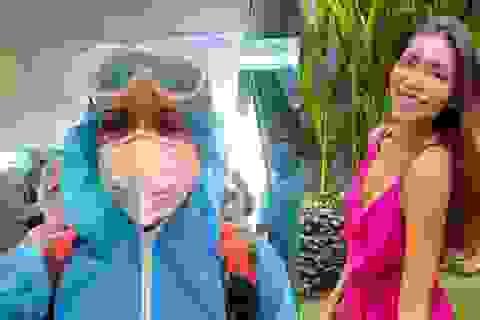 Minh Tú đã về Việt Nam sau 4 tháng mắc kẹt ở Bali, cách ly tại Trà Vinh