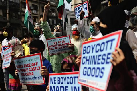 Ấn Độ hạn chế công ty Trung Quốc tham gia đấu thầu của chính phủ