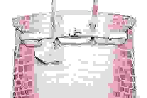 Sốc: 7 tỷ đồng cho một túi xách Hermes làm bằng da cá sấu