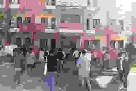 Sinh viên Đại học Huế đến từ các vùng dịch được lấy mẫu xét nghiệm Covid-19