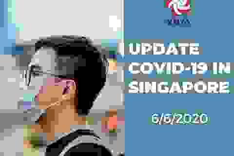 Sinh viên Việt tại Singapore tổ chức nhiều hoạt động tuyên truyền mùa dịch