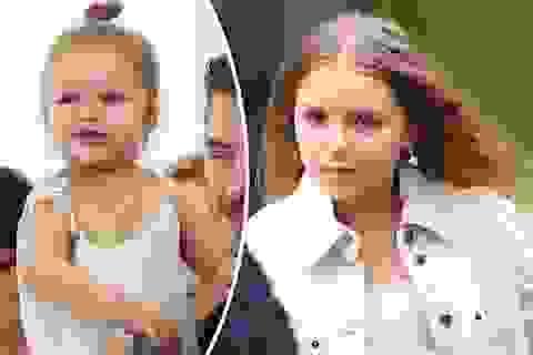 """""""Công chúa nhà Beckham"""" đã lớn và biết làm điệu như thế này..."""