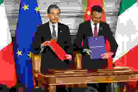 Căng thẳng với Mỹ, Trung Quốc tăng cường quan hệ với châu Âu