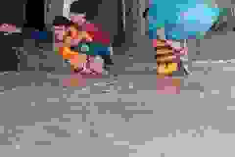 Mưa lớn kéo dài, toàn huyện Ea Súp ngập trong biển nước