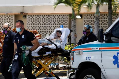 Gần 25.000 người Mỹ chết vì Covid-19 trong tháng 7