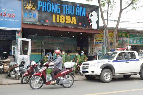 Phát hiện 28 người Trung Quốc nhập cảnh trái phép trong phòng thu âm