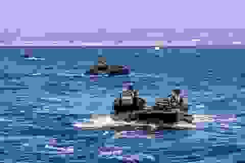 Thiết giáp đổ bộ Mỹ chìm xuống biển, 1 binh sĩ thiệt mạng, 8 người mất tích