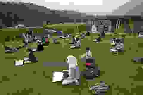 Ấn Độ: Nơi đỉnh đồi trở thành lớp học