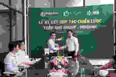 Trần Anh group ký kết hợp tác với ngân hàng MBBank