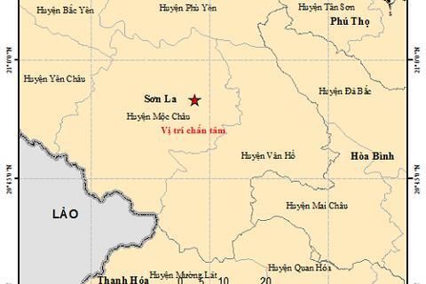 Tiếp tục xảy ra động đất ở Mộc Châu - Sơn La