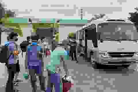 Thừa Thiên Huế điều xe quân đội đón người dân từ Đà Nẵng trở về