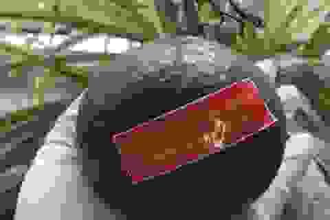 """Nhân viên y tế Đà Nẵng xúc động nhận quả cam có lời nhắn nhủ """"chờ trở về"""""""
